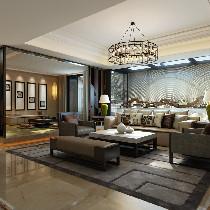上海浦江华侨城别墅户型现代简约风格设计