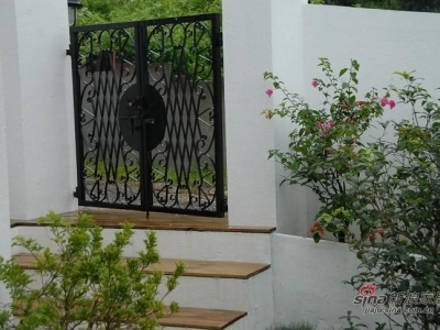 房子的大門