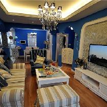 海里的的房子你伤不起  5W2打造88平地中海风格
