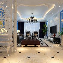 潮流个性300平别墅装修诠释天恒乐活城新古典风格
