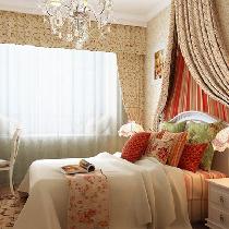 120平典雅华贵的三居室 美式乡村风