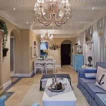 达润160平地中海打造古老尊贵三居装修