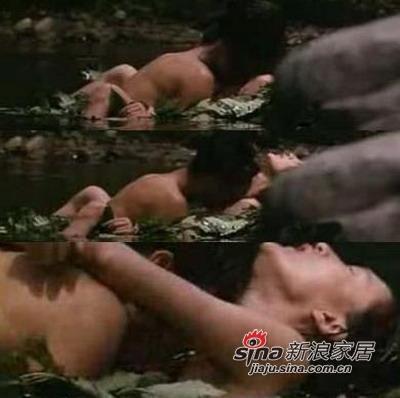 周迅与陈坤在 巴尔扎克与小裁缝 中火辣大胆的水中激情戏