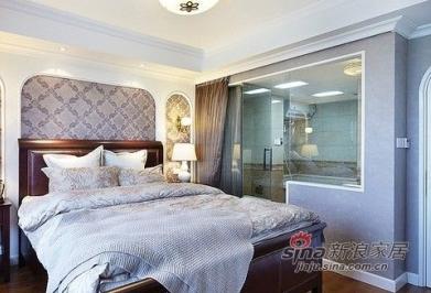 卧室里的浴室图片