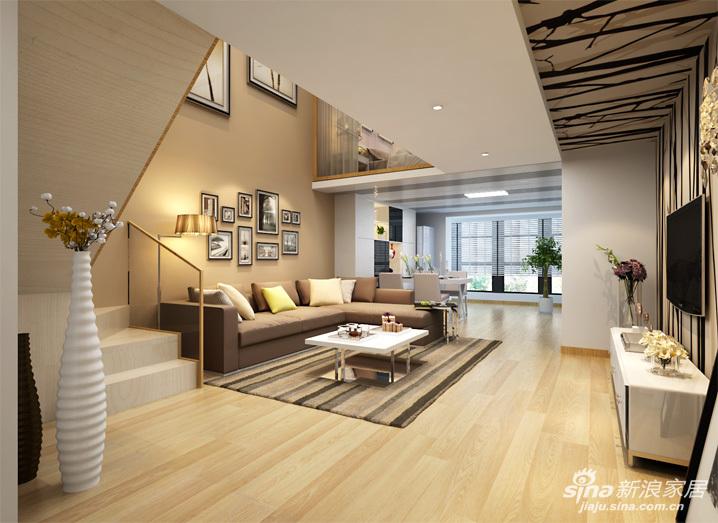 室内装修主色使用户型,搭配色是米黄色,这样好看?深圳智水仁山白色图图片