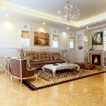 450平二层别墅新古典风格装修效果