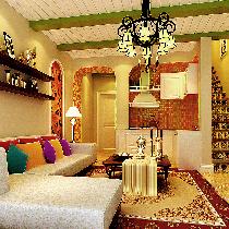 13万打造白领夫妇温馨、舒适、唯美百变的LOFE温馨婚房