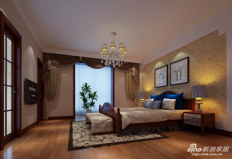 亮点:点缀着白色纱帘的落地窗,并没有过多装饰,却简单中透着华贵.图片