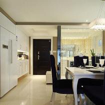 8万装118平三居室 小夫妻现代简约温馨浪漫窝