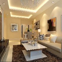 餐厅巧改书房 北京实创装饰5.3万装修90平米新房两居室