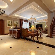 秦皇岛实创打造210平经典欧式别墅之家