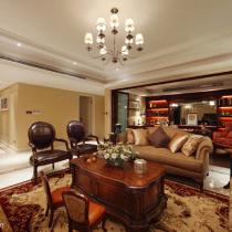 9万精装140平美式新古典风格三居
