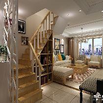 【上海实创装饰】美兰湖145平现代简约风格复式装修设计