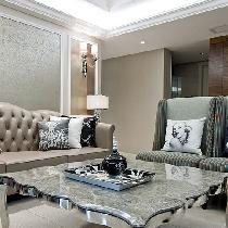 140平新古典4居空间 演绎完美视觉盛宴