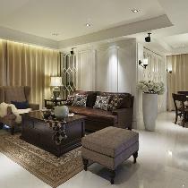 【上海实创装饰】控江新村128平美式混搭范儿老房改造