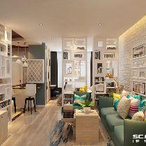 【上海实创装饰】千汇苑一村53平一居老房现代简约小户型大空间