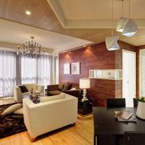 8万装88平米现代奢华风公寓