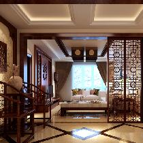 五矿龙湾国际中式风格装修