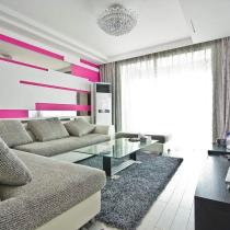 15万装90平现代感超强公寓