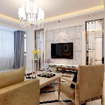金地铂悦-现代-三居室