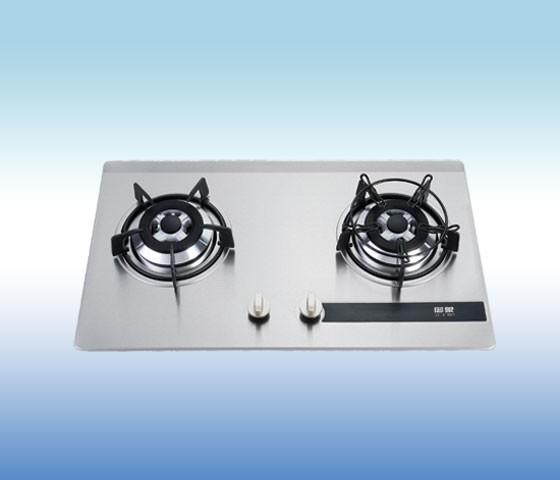 大火燃烧  炉架: 铸铁搪瓷雾化炉架  开关旋钮:电木  保护装置:电磁阀图片