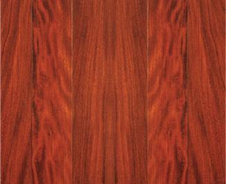 绿之嘉实木复合地板之金车花梨