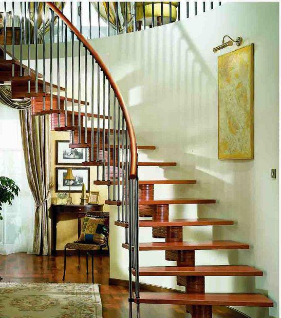 品家沃丘斯弧形系列木楼梯