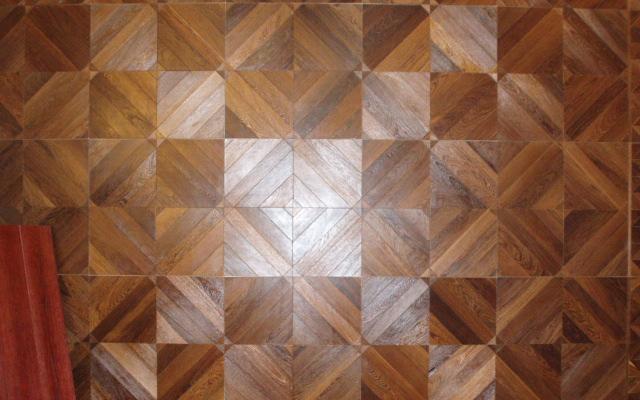安然踏步JP633实木复合地板