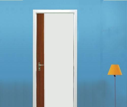 亚光亚实木复合门清混结合Y-178(白色+红樱桃清
