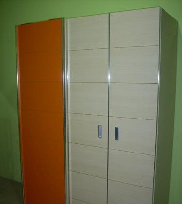欢乐时光儿童家具-米兰推拉门衣柜