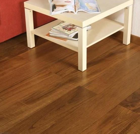 四合实木复合地板-T2系列-柚木