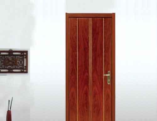 亚光亚Y-106清油实木复合门(白橡)