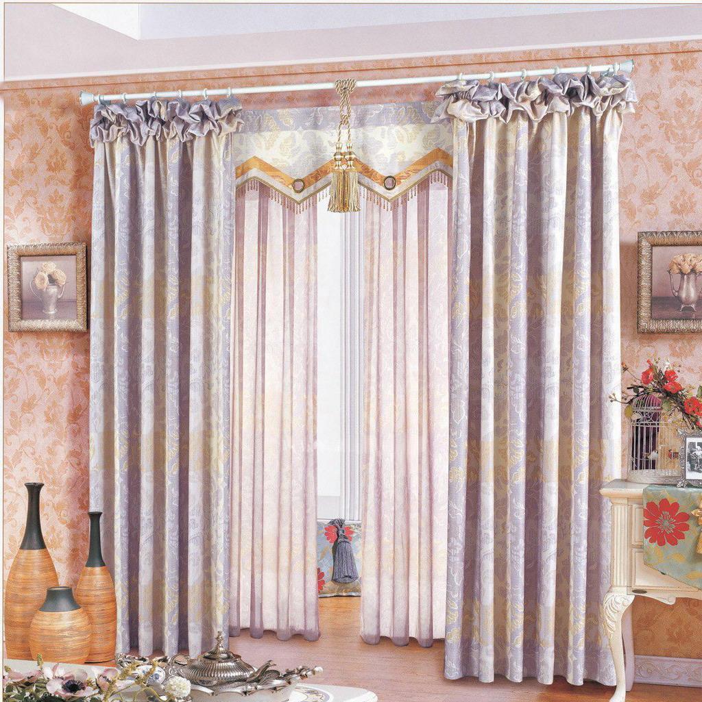 布匹善窗帘韩式小资系列紫迷斑批驳产品标价_图片