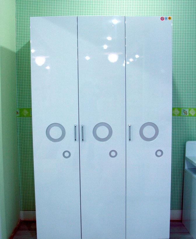 三门衣柜 三门衣柜内部结构图 三门衣柜内部设计图