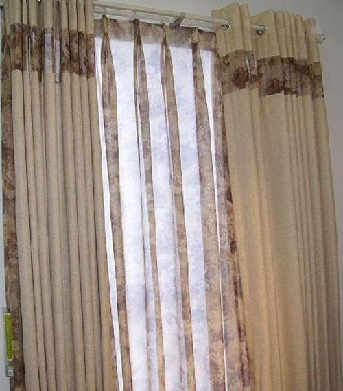 藤川布老虎浪漫卧室书房餐厅窗帘(布PP0770Y/纱S