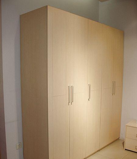诺捷家具卧室五开门衣柜6A208白枫家具市场厦门市二手江头图片