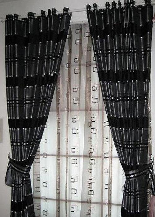 藤川布老虎浪漫卧室书房餐厅窗帘(布PP0770Y/纱